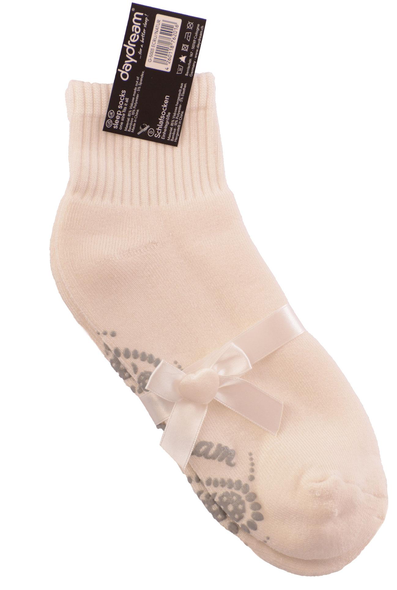 Ponožky na spaní - Ecru
